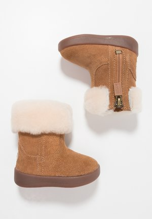 JORIE - Baby shoes - chestnut