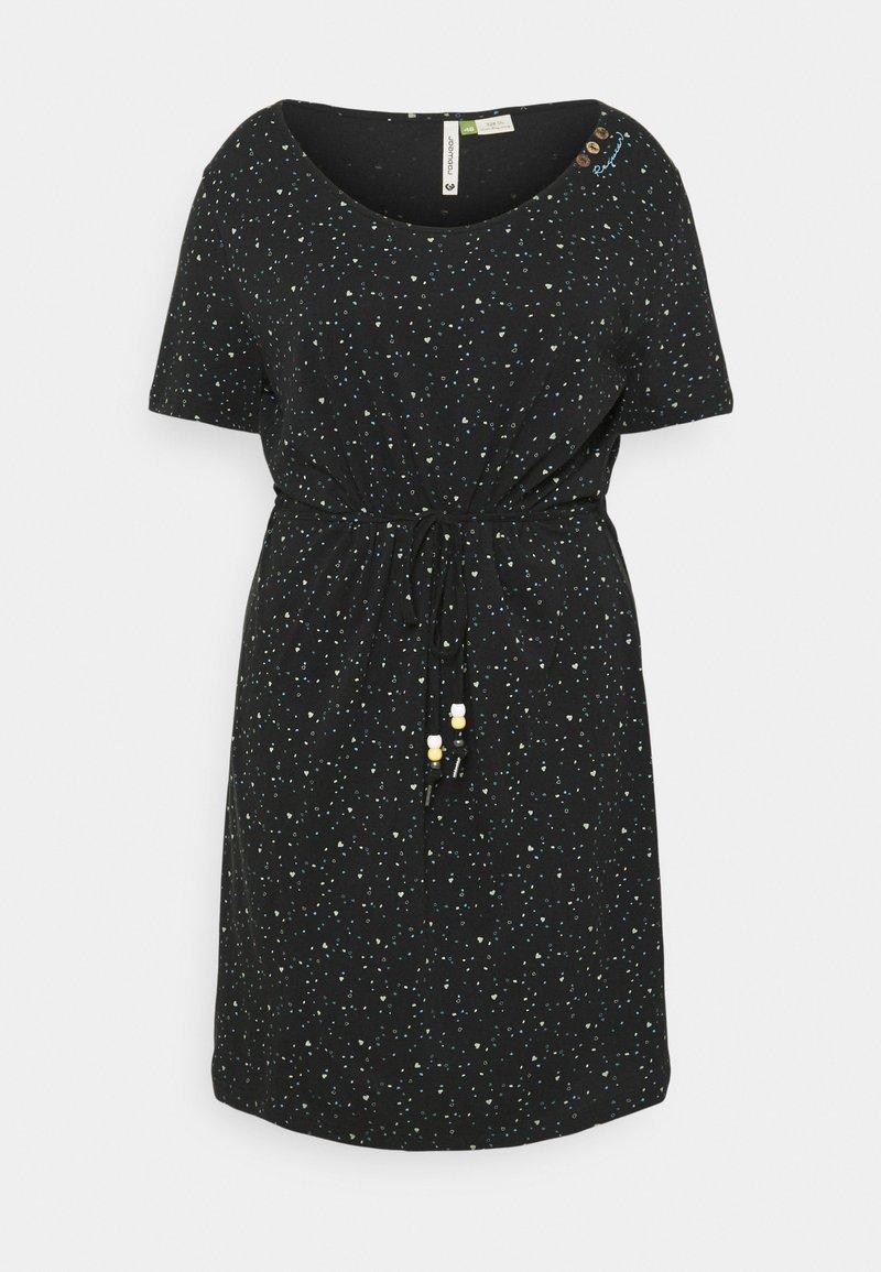 Ragwear Plus - PELIADA ORGANIC - Žerzejové šaty - black