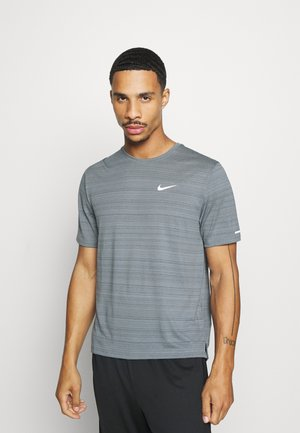 MILER  - T-shirt basic - smoke grey/reflective silver