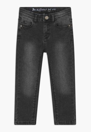 SKINNY KID - Jeans Skinny Fit - black denim