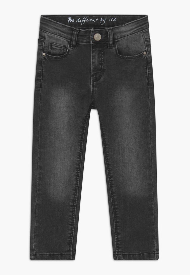 SKINNY KID - Jeans Skinny Fit - black denim