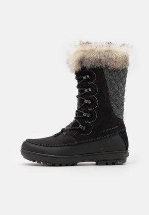 GARIBALDI - Winter boots - jet black/charcoal
