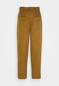 Gestuz - ASTER PANTS - Trousers - tapenade - 3