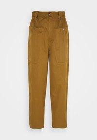 ASTER PANTS - Trousers - tapenade