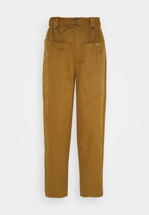 ASTER PANTS - Trousers - tapenade