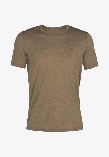 Basic T-shirt - flint hthr