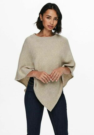 STRICK - Poncho - simply taupe