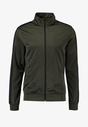 TRACK - Training jacket - olive/black