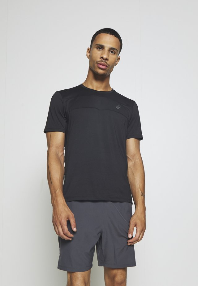 RACE - T-shirts med print - performance black