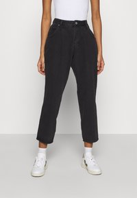 Monki - MAJA - Jeans baggy - black dark - 0