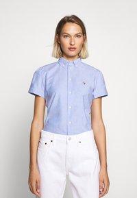 Polo Ralph Lauren - OXFORD - Button-down blouse - blue hyacinth - 0