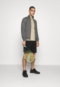 Lacoste Sport - CLASSIC JACKET - Zip-up hoodie - pitch chine/graphite sombre - 1
