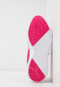 Diadora - EAGLE 3  - Neutral running shoes - white/beetroot pink - 5