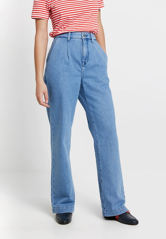 POSCYPRESS WIDE - Jeans Relaxed Fit - lichen blue