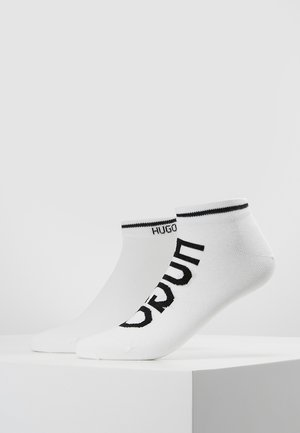 LOGO 2 PACK - Socks - white
