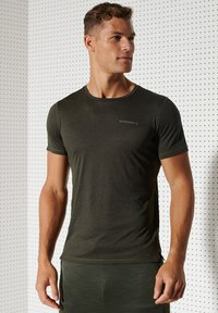 Superdry - ACTIVE - Sports shirt - army khaki - 1