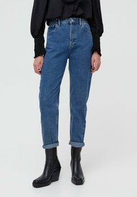 PULL&BEAR - MOM - Jeans baggy - blue - 0