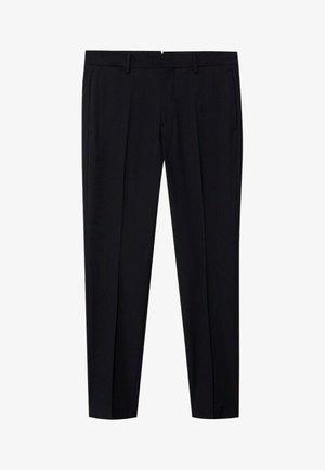 PAULO - Chino kalhoty - noir