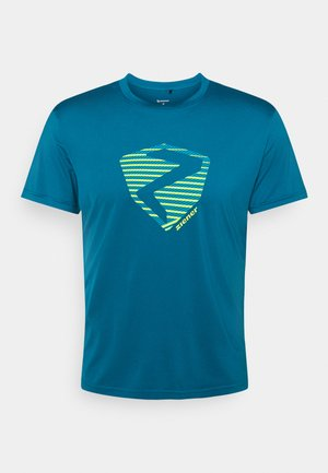 NOLAF MAN - T-shirt imprimé - crystal blue