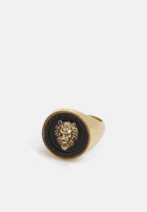 LION HEAD COIN - Bague - gold-coloured