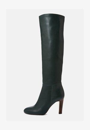 AGNA - High heeled boots - dark green