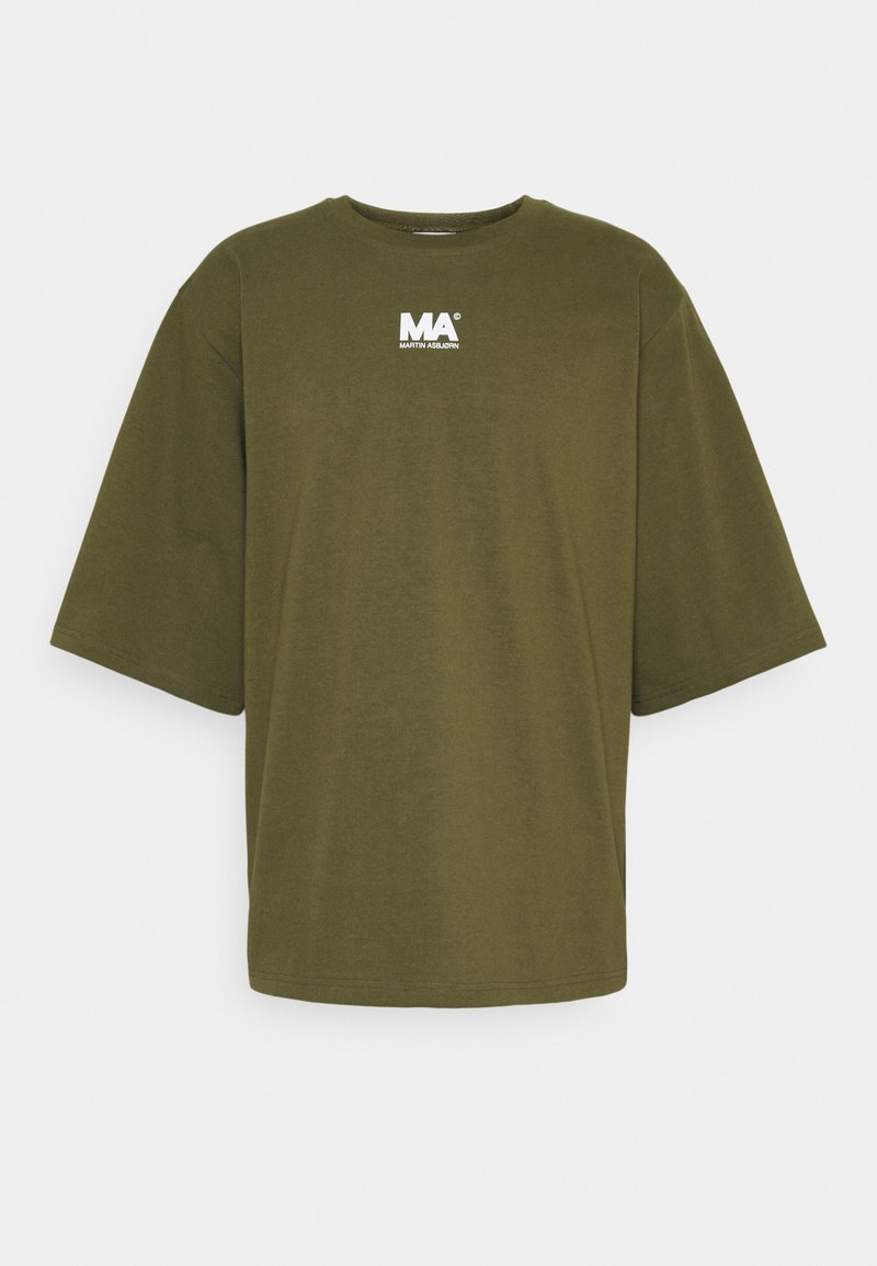 Martin Asbjørn - TEE - T-shirt print - olive