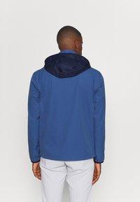 Polo Ralph Lauren Golf - HOOD ANORAK JACKET - Outdoor jacket - bastille blue - 3