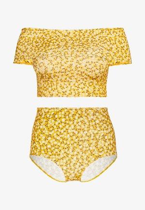 MAJA TOP NILLA HIGHWAIST SET - Bikiny - yellow