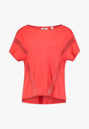 S/SLV CALI SUNSET  - Print T-shirt - fiery red