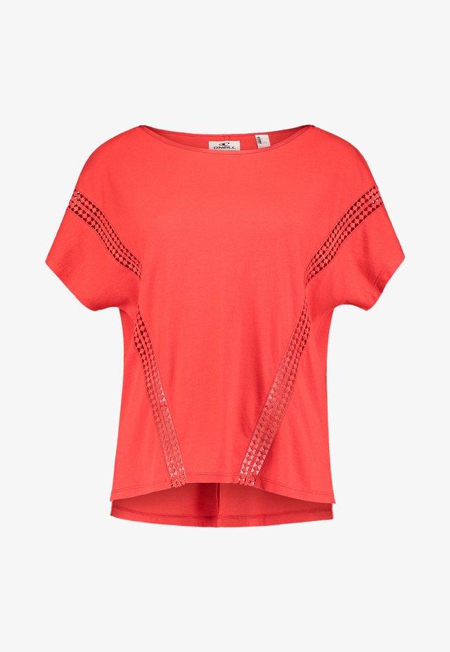 S/SLV CALI SUNSET  - T-shirt imprimé - fiery red