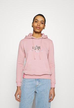 NEW BASIC HOODY PRINT - Sweatshirt - silver/pink