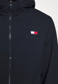 Tommy Hilfiger - HOODED JACKET - Waterproof jacket - blue - 5