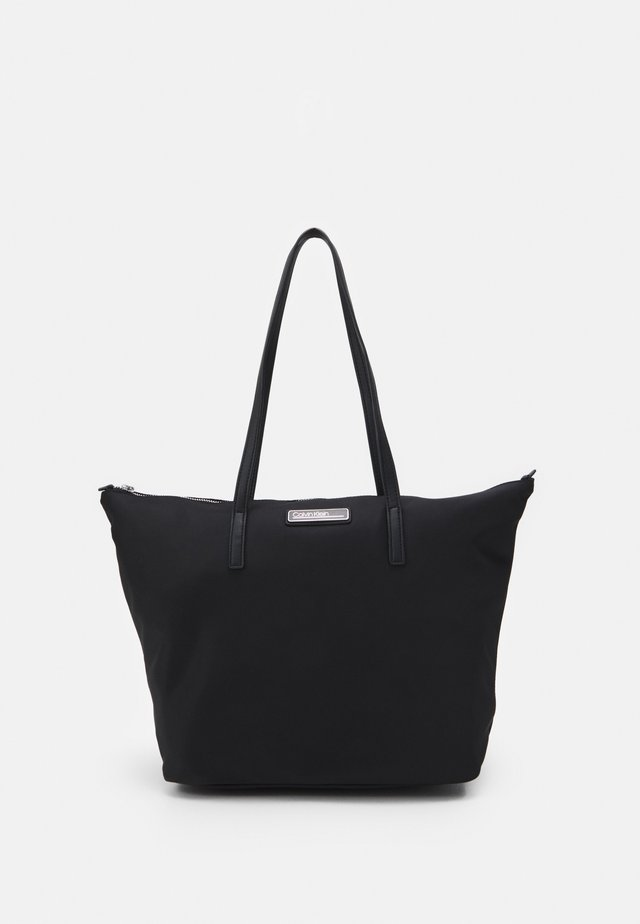 SHOPPER ZIP - Handbag - black
