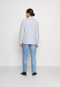 Springfield - MAO STRIPE - Shirt - medium blue - 2