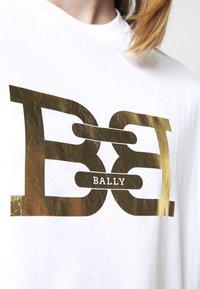 Bally - Print T-shirt - white - 5