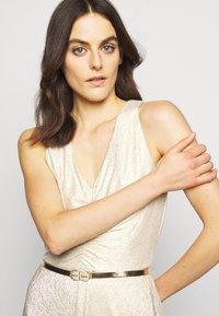 Lauren Ralph Lauren - IONIC DRESS  - Robe de soirée - new champagne - 3