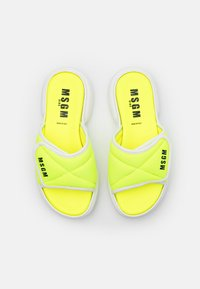 MSGM - Mules - neon yellow - 3