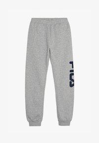 Fila - CLASSIC BASIC PANTS - Spodnie treningowe - light grey melange - 3