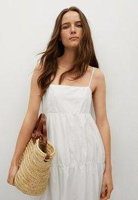 Mango - CECI - Vestido informal - white - 2