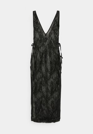 THE GLISTENING BOXED DRESS - Negligé - black