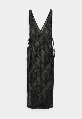 THE GLISTENING BOXED DRESS - Chemise de nuit / Nuisette - black