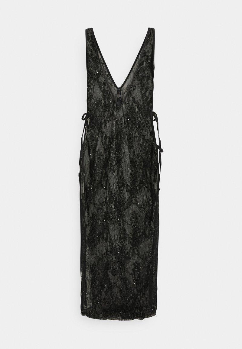 Ann Summers - THE GLISTENING BOXED DRESS - Nightie - black