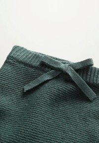 Mango - GEBREIDE - Shorts - groen - 3