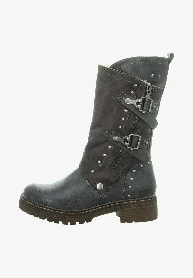 BIKER  - Cowboy/Biker boots - dk grey