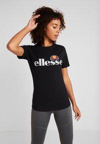 Ellesse - BARLETTA - Print T-shirt - black - 0