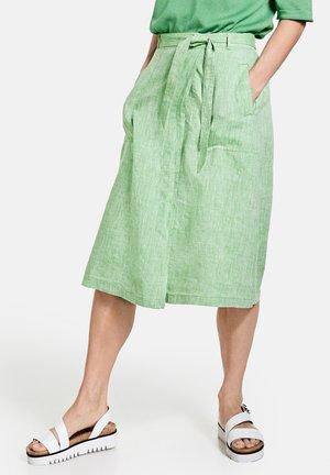 A-line skirt - botanical melange