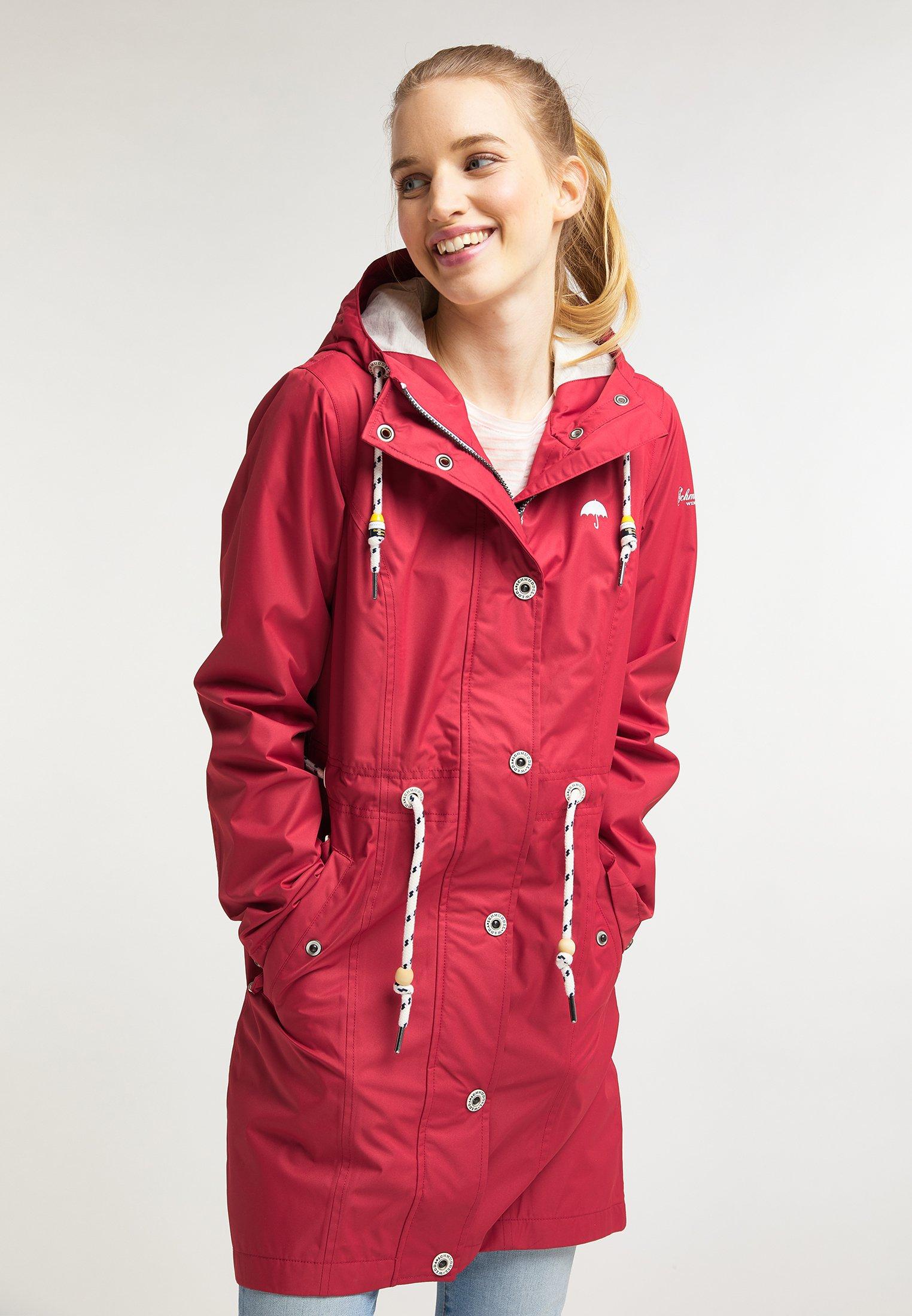 New Arrival Lowest Price Women's Clothing Schmuddelwedda MIT MAGICPRINT Parka red OUhXSd0xi QlhKBYQJa