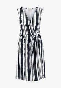 Anna Field - Shift dress - white/black - 4