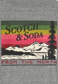 Scotch & Soda - ARTWORKS - Long sleeved top - grey - 4