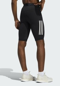 adidas Performance - FOR THE OCEANS PRIMEBLUE TECHFIT SHORT TIGHTS - Pantalón corto de deporte - black - 1
